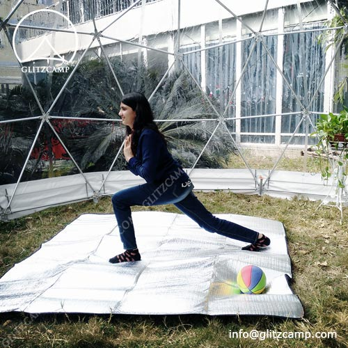 Geodome tent for Yoga Class Training House