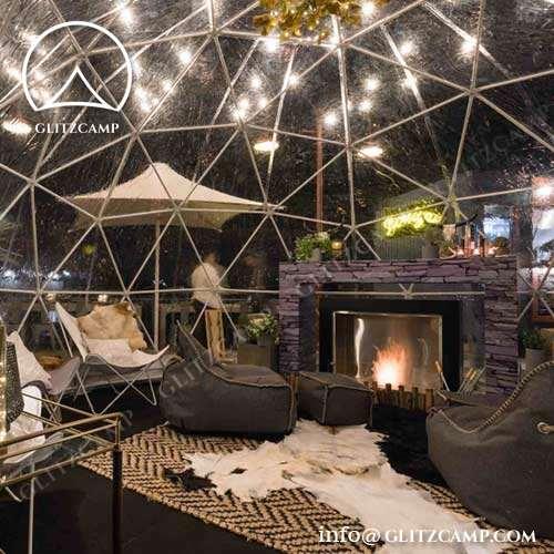 4m Diameter Round Dome Tent