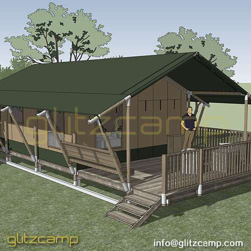 Canvas Glamping Tent Resort
