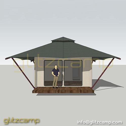 Single Peak Cottage Tent Hotel