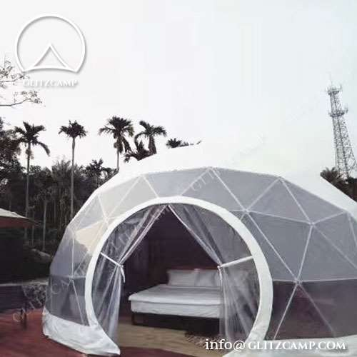 & Geodome Tent: Wise Choice For Glamping