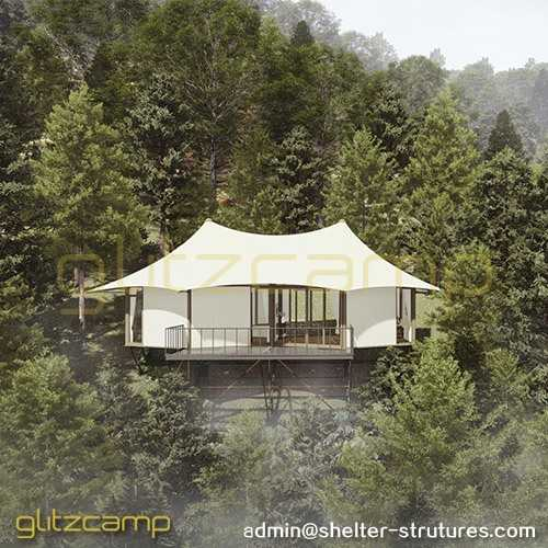 Twin-peak Water Proof Tent Hotel to Buy