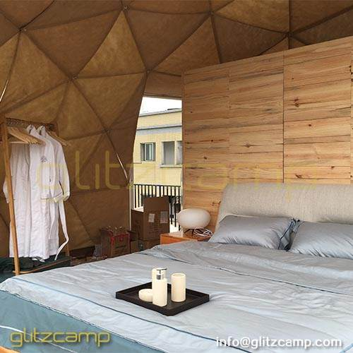 Glamping Tents Inside Decorations
