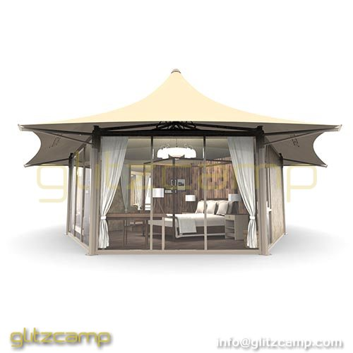 PVC Safari Tents Camping Resort Tents