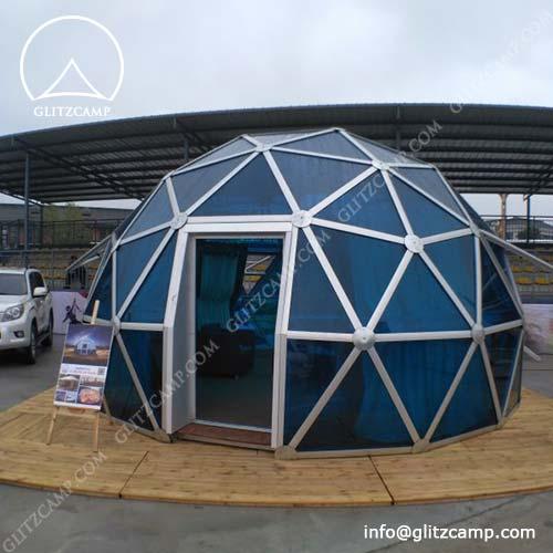 Backyard Geodome Lounge