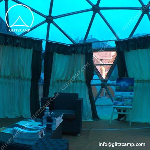 Glass Geodome Living House For Sale