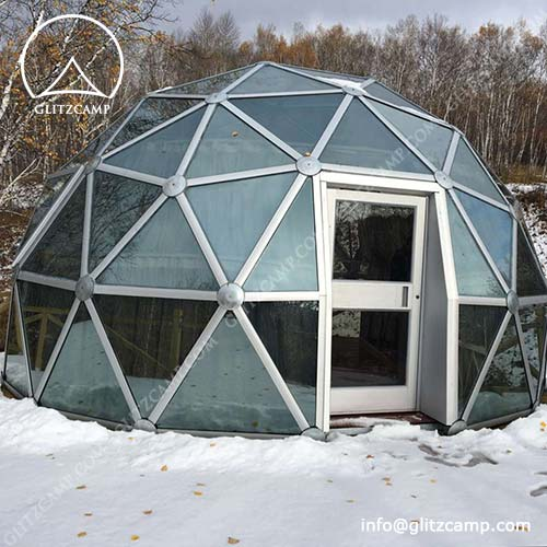 Merveilleux Living Dome House For Camping