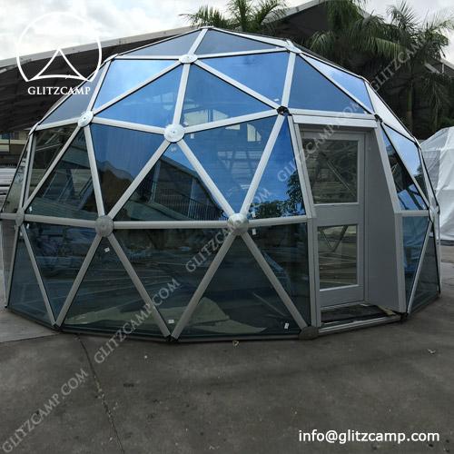 Relocatable Glass Dome Garden 3-30m