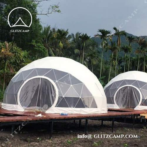 7M Ecoliving Dome Tents for Eco Farms