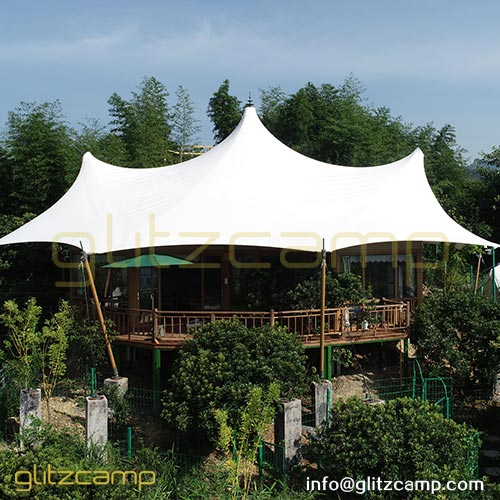 45sqm Luxury Safari Tent for deluxe game lodge and jungle glamping resort
