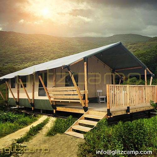 Large Safari Tent Hotel for Family Tent Accommodation